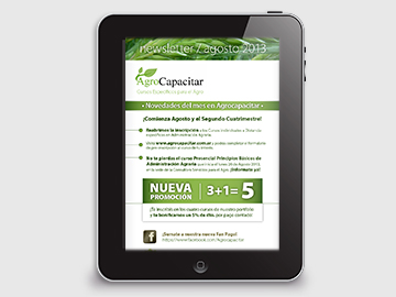 Agrocapacitar / newsletter